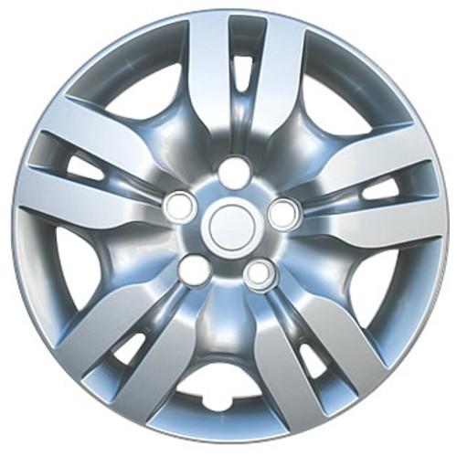 "2009 2010 2011 2012 Altima Hubcaps 16"" Silver Finish Nissan Altima Wheel Covers"