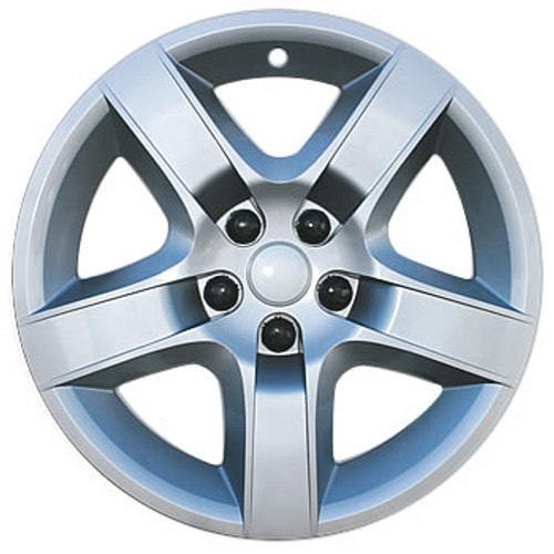 07'-10' Saturn Aura Wheel Cover Bolt-on Silver Aura Hubcap