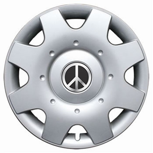 "Peace Sign 98'-01' VW Beetle Hubcap 16"" Wheel Cover"