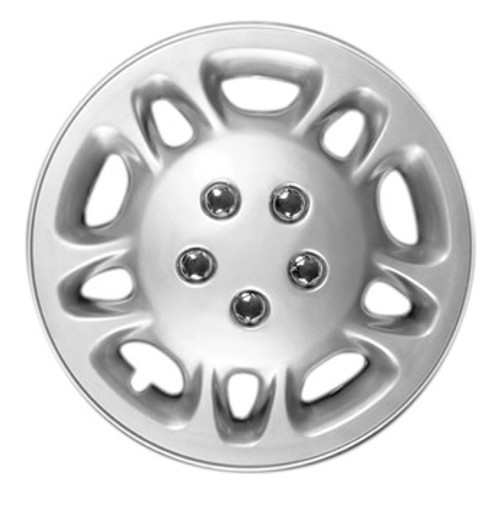 16 inch Hubcaps Silver Finish 16' Wheel Covers