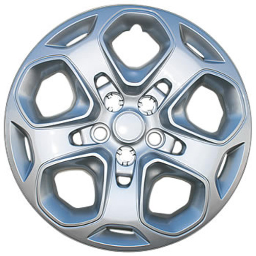 10' 11' 12' Fusion Hubcaps 17 inch Silver Fusion Wheel Cover Replacement