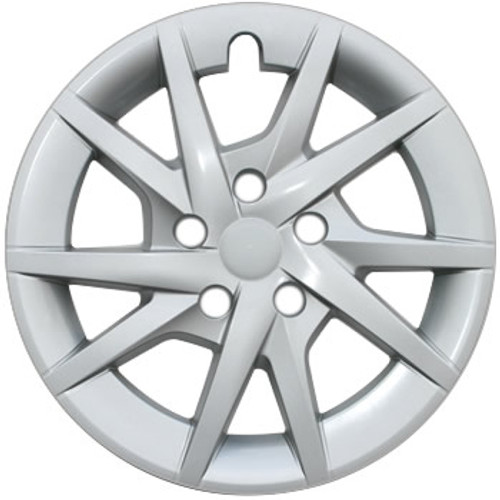 2012 2013 2014 2015 2016 2017 2018 Toyota Prius Hubcaps Silver Finish 16 inch Prius Wheelcover