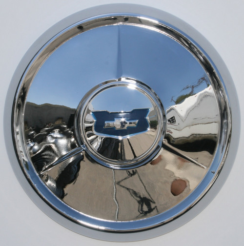 "54 Chevrolet  15""  New old replacement stock hubcaps - set of 4"