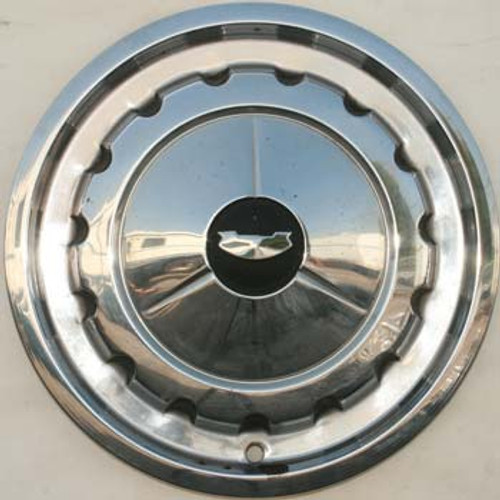 1957 Chevy Stainless Steel Hubcap - 14""