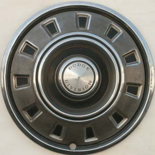 "1968 1967 1969 Dodge Division 14"" Hubcaps for 11 Slot Charger and Dart"