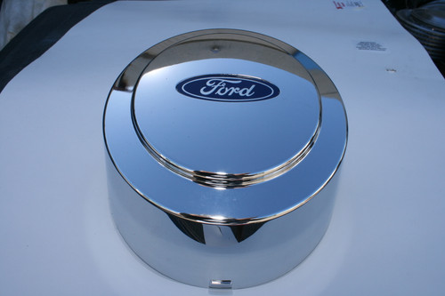 1994-1997 Ford F-350 DRW OEM Chrome Rear Center Cap #F81Z1130JA