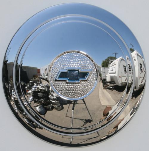 1936 Chevrolet Standard wheel hubcaps.(Artillary wheels, not wire wheels)