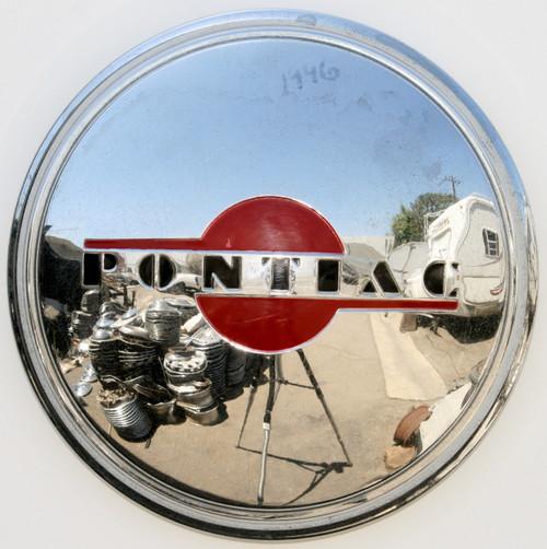 1946 PONTIAC CHIEFTAIN SAFARI STAR CHIEF HUBCAP CENTER CAP
