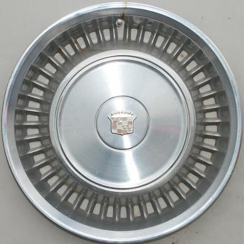"""'71-'72 Caddy Stainless Steel 15"""" Hubcap"""