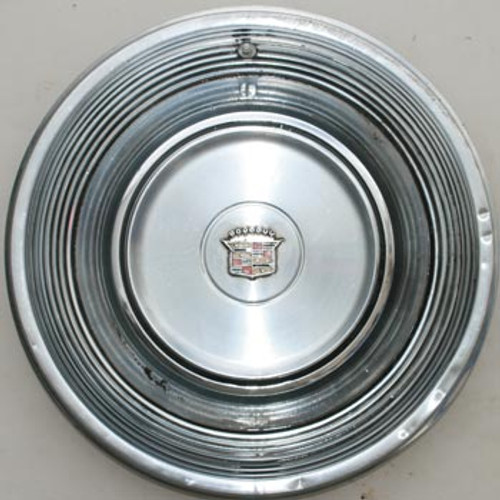 """'68-'69 Caddy Stainless Steel 15"""" Hubcap"""