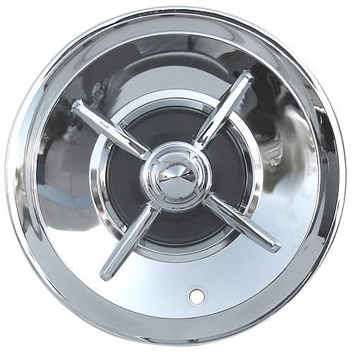 57' Lancer Wheel Covers 15 inch Lancer Hubcap Beautiful Mirror Chrome Solid Steel