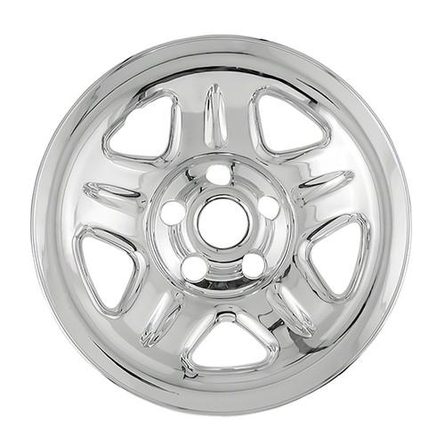 93 94 95 96 97 98 99 00 01 Jeep Cherokee Wheel Cover Hubcap 15 inch Chrome Wheel Skin Simulator