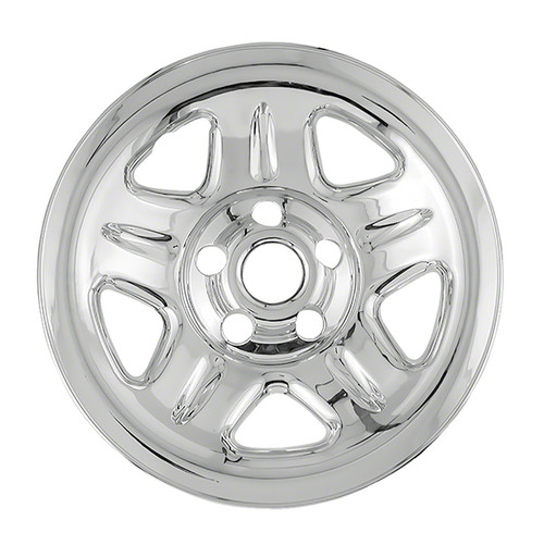97' 98' 99' 00' 01' 02' 03' 04' 05' 06' Jeep Wrangler Wheel Skin 15 inch Chrome Wrangler Wheel Cover Hubcap