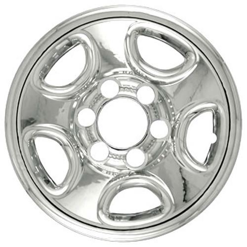 99'-13' GMC Savana Wheel Cover Wheelskins - Chrome Finish 16 inch
