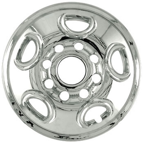 "1999 - 2014 Chevy Sierra Truck Wheel Covers Wheel Skins 16"" Chrome Hubcaps"