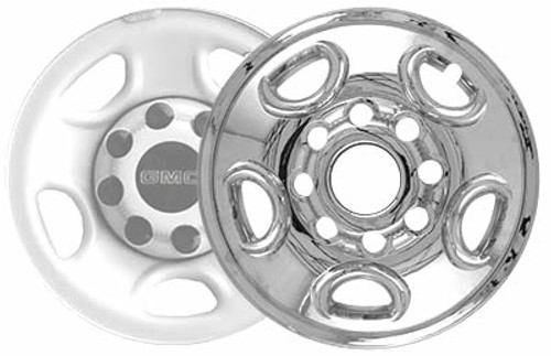 00'-13' Yukon Wheel Cover Chrome CCI Wheelskin