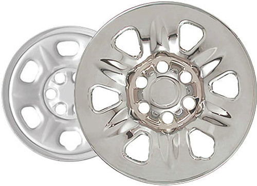"04'-09' Nissan Armada Wheel Skins Chromed 17"" Wheel Cover"