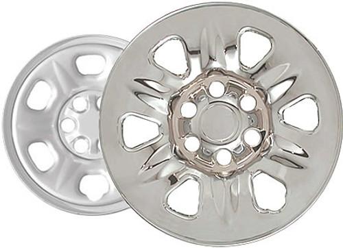"04'-09' Nissan Armada Wheel Skins Chromed 17"" Wheel Cover"