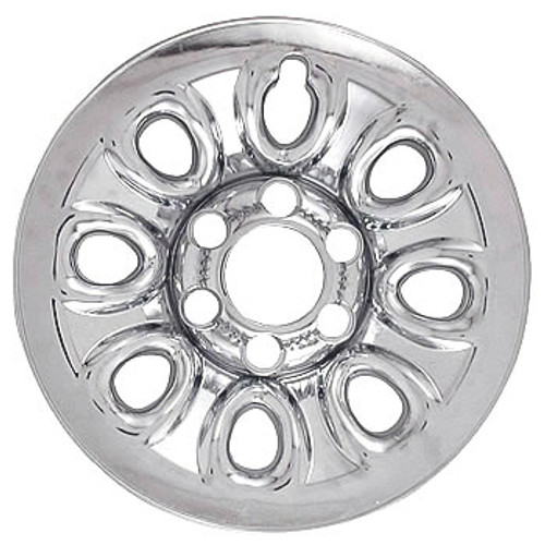 "04' 05' 06' 07' 08' 09' 10' 11' 12' 13' Chevy Silverado Wheel Skin Chrome 17"" Wheel Cover Hubcap"