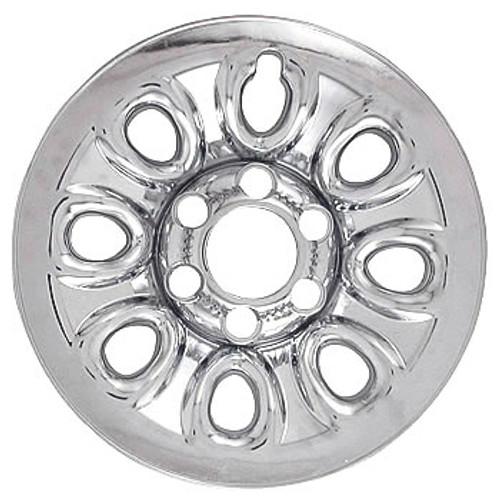 "04' 05' 06' 07' 08' 09' 10' 11' 12' 13' Chevy Silverado Wheel Skin Chrome 17"" Wheel Cover Hubcap"