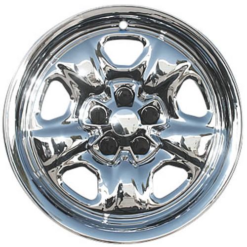 "06-10 16/"" 16 INCH CAR VAN WHEEL TRIMS HUB CAPS SILVER VW SHARAN"