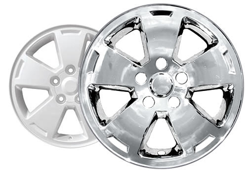 06'-10' Chevy Caprice Wheel Skins Chrome Rim Covers for Alloy Wheels