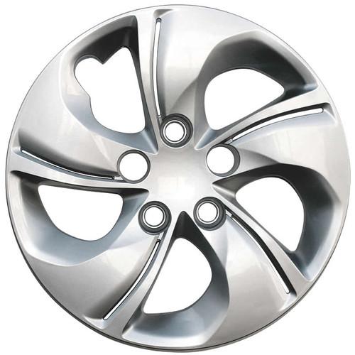 2013 2014 2015 Honda Civic hubcap Replica 5 spoke silver twisted bolt-on 15 inch Civic Wheel Cover