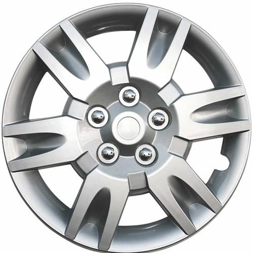 2005 2006 Altima Hubcaps Silver Finish 16 inch Altima Wheel Cover