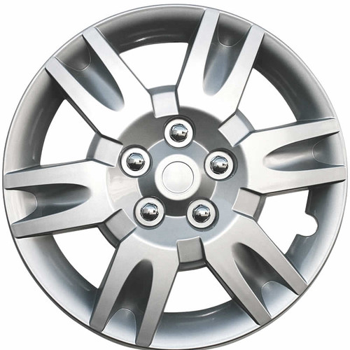 2005 2006 Altima Hubcaps Silver Finish 16 inch Altima Wheel Cover