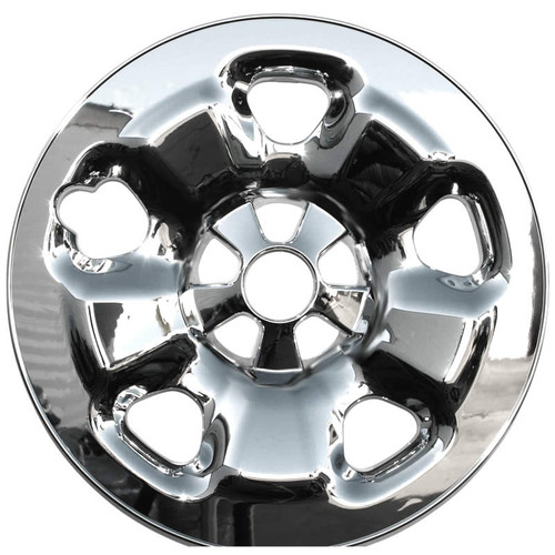 2014 2015 2016 2017 2018 2019 Jeep Cherokee Wheel Skins Chrome Wheel Cover for Your 5 lug 5 spoke 17 inch Styled Steel Wheels