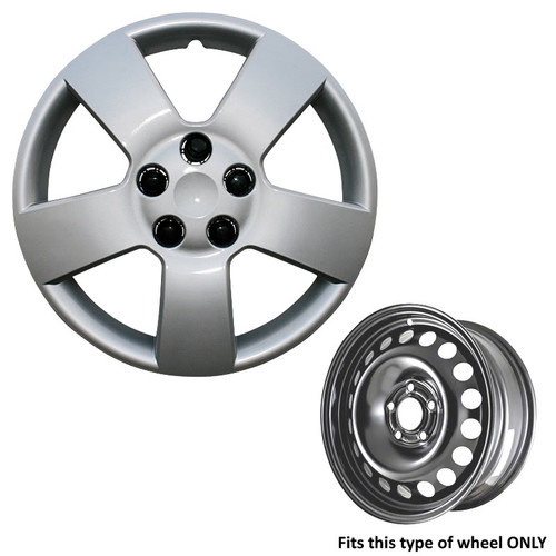 06' 07' 08' 09' 10' 11' HHR hubcap only works with shown wheel type.