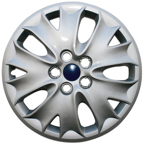 03' 04' Ford Fusion hubcap, silver finish 16 inch Fusion wheel cover.