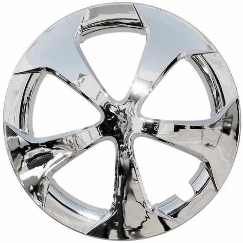 12' - 15' chrome replacement Prius Hubcap. Fits and looks beautiful  for 2012 2013 2014 & 2015 Toyota Prius!