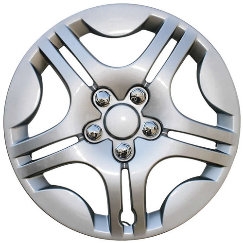 2004 2005 2006 2007 2008 Chevy Malibu Hubcap.  Beautiful silver finish replacement Malibu wheelcover.