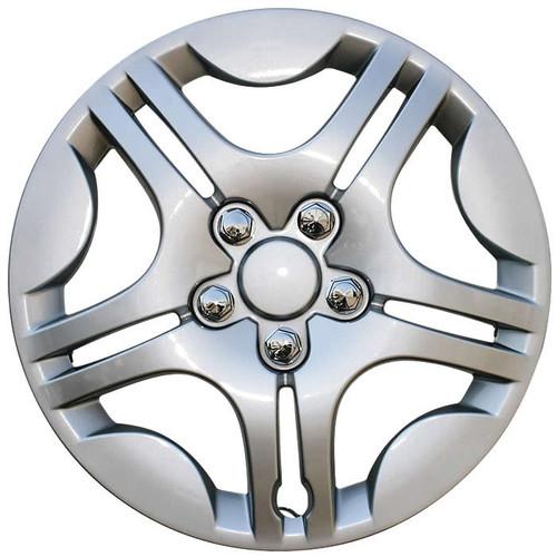 2004 2005 2006 2007 2008 Chevy Malibu Hubcap.  Beautiful silver finish replacement Malibu wheelcover.