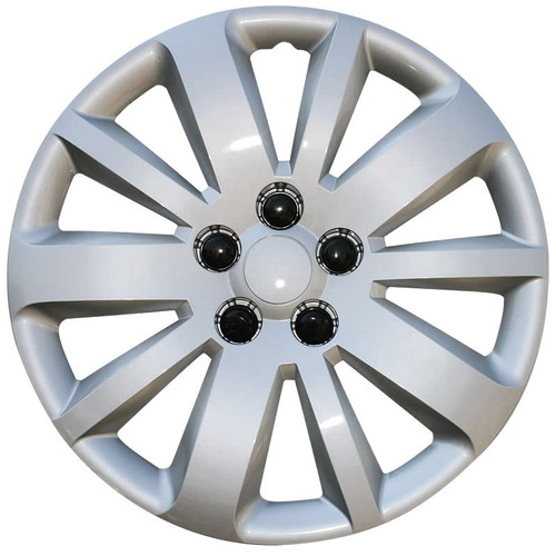 2011 2012 2013 2014 2015 2016 Chevy Cruze hubcaps. 16 inch silver finish direct replacement Cruze wheel cover.