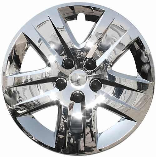 "Set of Four 16/"" Silver Hubcap Wheel Covers for 2000-2003 Chevy Impala Push-on"