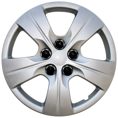 Years 16' 17' 18' Chevy Cruze hubcap. Silver finish wheel cover.