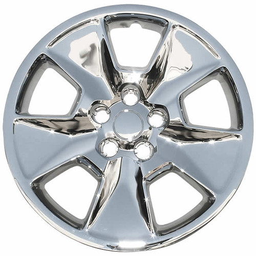 2011 2012 2013 2014 2015 Ford Explorer hubcap with a chrome finish.