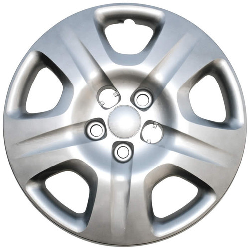 2013 2014 2015 2016 Dodge Dart wheel cover, silver finish 16 inch replica direct replacement bolt-on Dart hubcap.