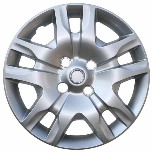 10' 11' 12' Sentra hubcap replica bolt-on brand new. Also, this Sentra hubcap fits years 2007 2008 and 2009 even though it is the newer style.