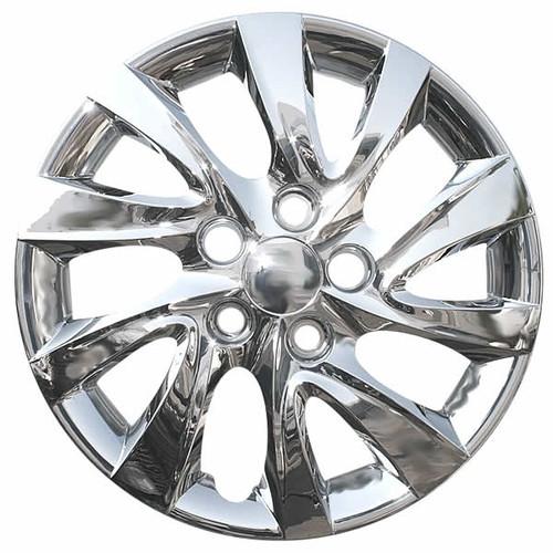 2011-2015 Hyundai Elantra wheelcover. New 16 inch Chrome Replica Bolt-on hubcap.