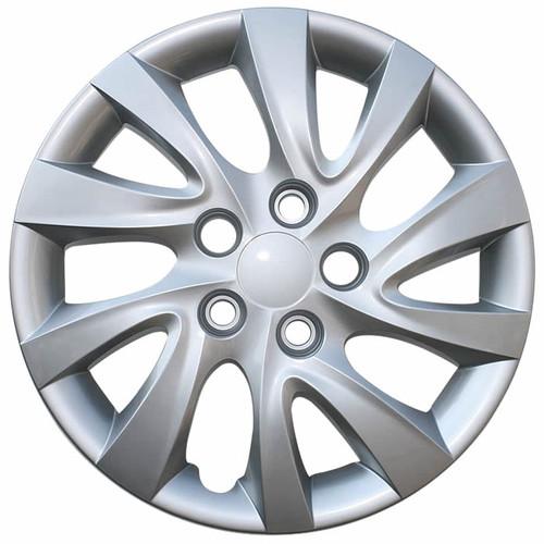 2011-2015 Hyundai Elantra Hubcap. New 16 inch Silver Replica Bolt-on Wheelcover
