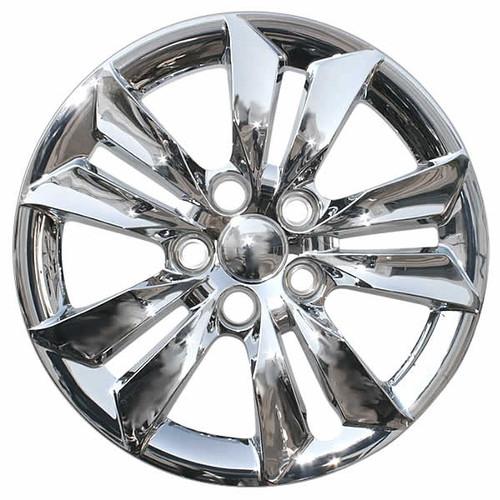 2011-2014 Hyundai Sonata wheel cover. New 16 inch Chrome Replica Bolt-on Hubcap