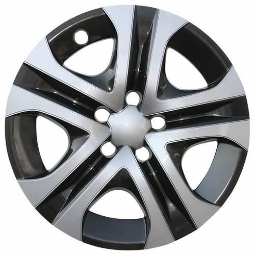 Years 16' 17' and 18' Toyota Rav4 Wheel Cover Silver / Black 17 inch Replica Rav 4 Hubcap.