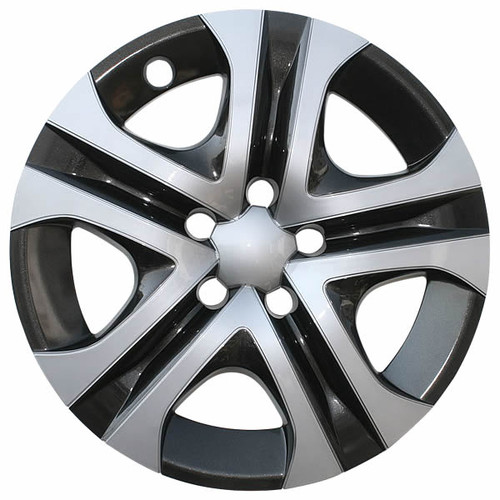 Years 16' 17' and 18' Toyota Rav4 Wheel Cover Silver / Black 17 inch Replica Rav 4 Hubcap.
