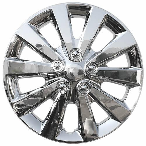 Years 13' 14' 15' 16' 17' Sentra wheelcover chrome replica.