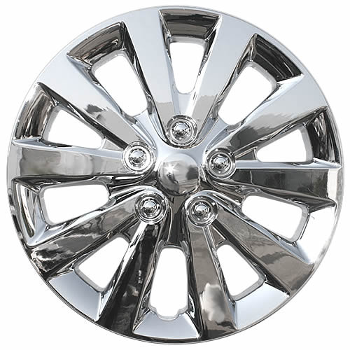 2013 2017 Nissan Sentra Hubcaps Replica 16 In Chrome Wheelcover
