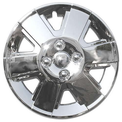 New 2006, 2007, 2008, 2009, 2010, 2011 Ford Focus Hubcap Chrome Replica 15 inch Focus Wheel Cover.