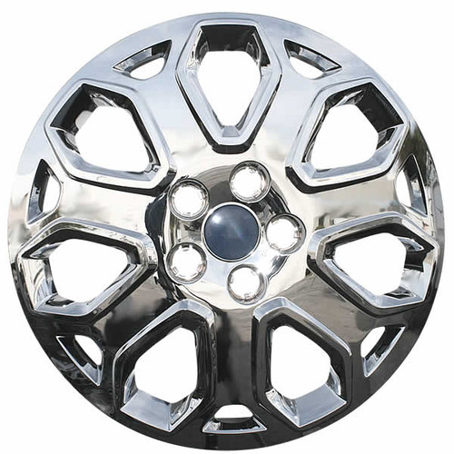 2012 2013 2014 Ford Focus Hubcap Chrome Finish Direct Replacement Wheel Cover